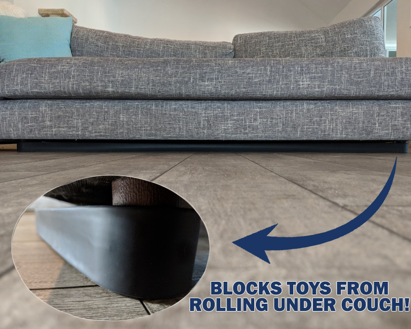 Stop Toys From Rolling Under The Couch In 2020 Couch Dog Ball Bed Blocks