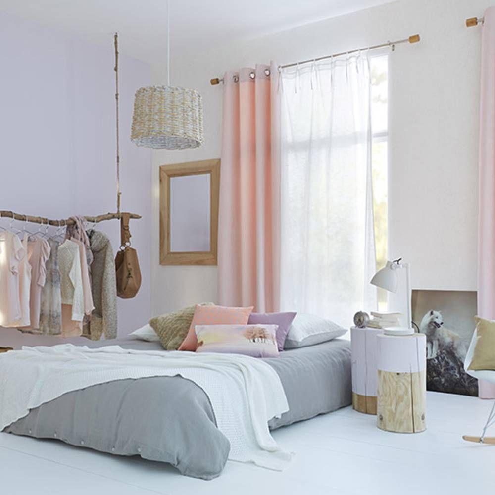 la chambre blanche en 15 fa ons elle d coration home inspiration deco chambre deco et. Black Bedroom Furniture Sets. Home Design Ideas