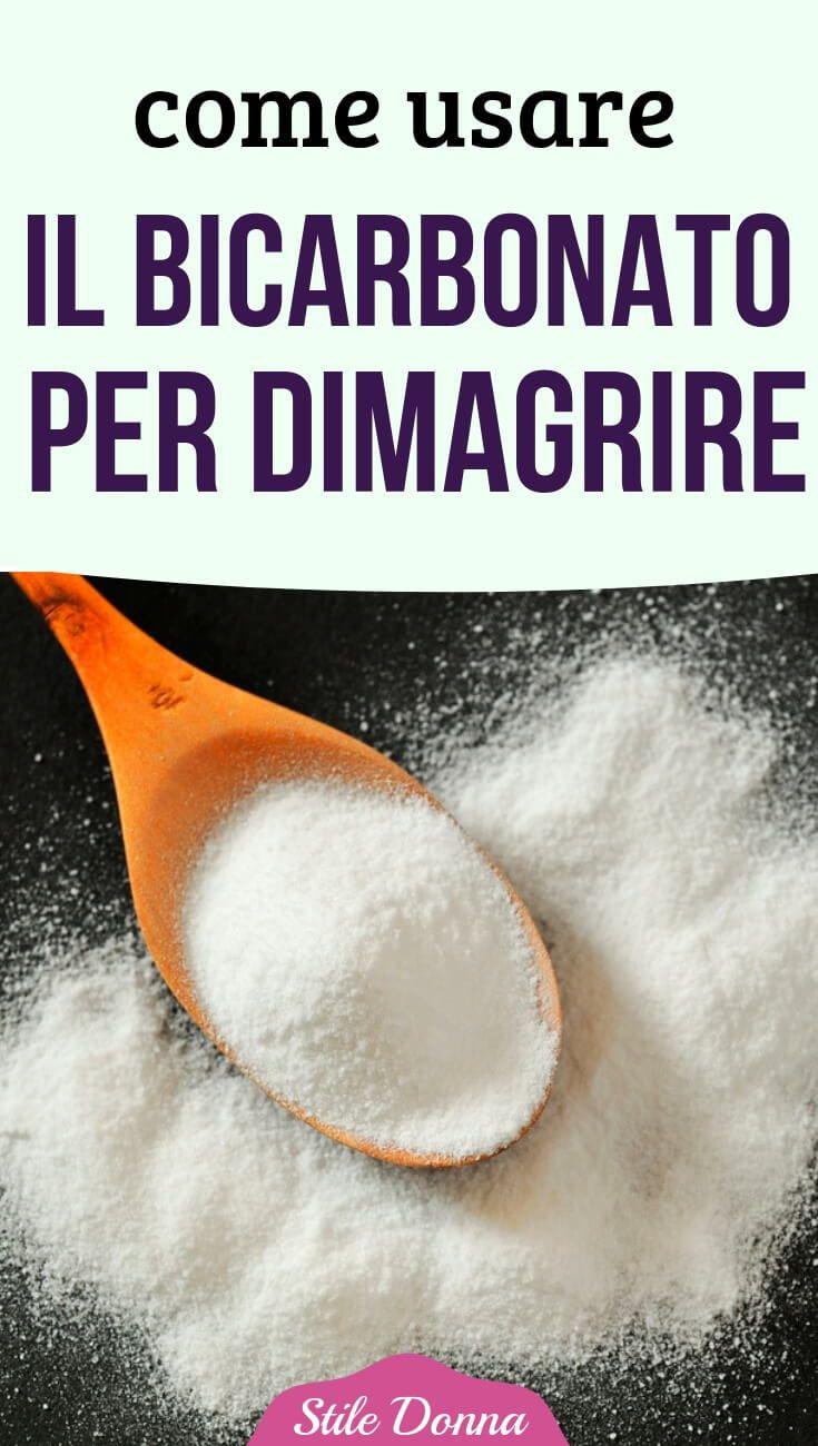 diete con bicarbonato di sodio per perdere peso