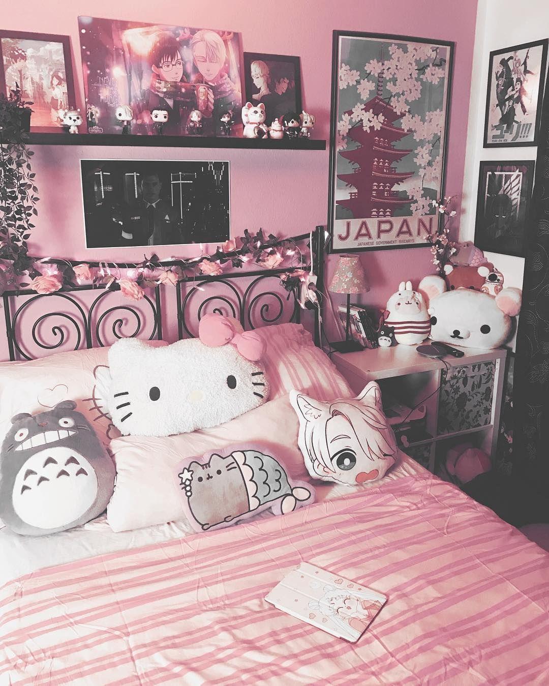 Otaku Room Bedrooms Otaku Room Room Ideas Bedroom Cute Room Decor Cute Room Ideas