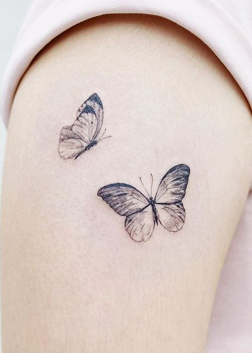 Butterfly Tattoo Meaning - Plus Stunning Tattoo Designs & Ideas - Tattoo Me Now