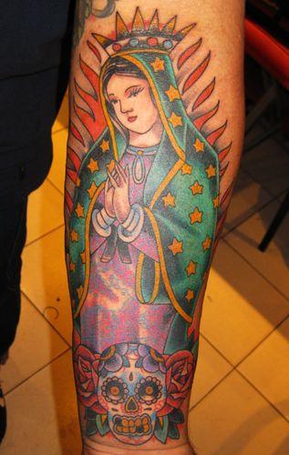 Virgen de guadalupe welldonetattoos tattoo body for Virgen de guadalupe tattoo
