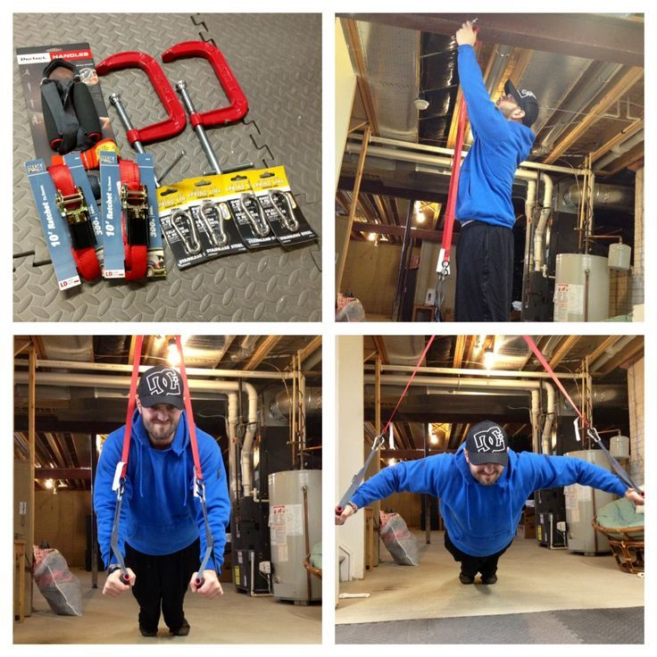 Diy trx straps fitness pinterest