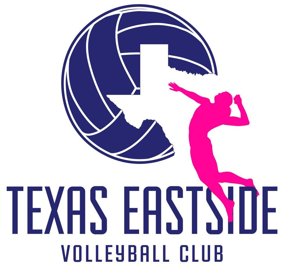 Volleyball Logo Club Logo Texas Sports Logo Athletic Club Logo Girls Team Logo Sports Logo Volleyball Sports Illustrations Design