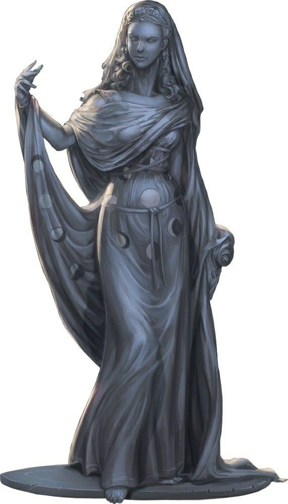 Pin By Ben Adams On Paizo Pathfinder Blog Artwork Fantasy Statue Character Portraits Statue