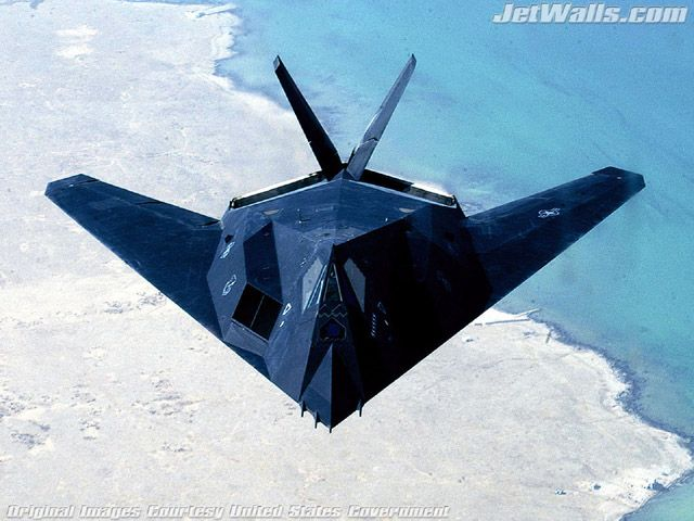 """F-117"" - Wallpaper No. 71 of 101. Right click for saving options."