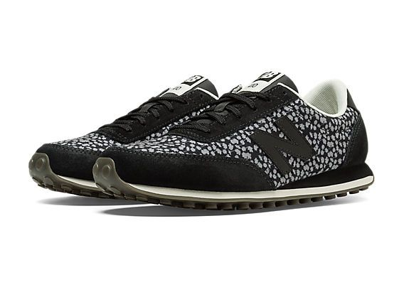 A softer take on animal print, the New Balance 410 for women