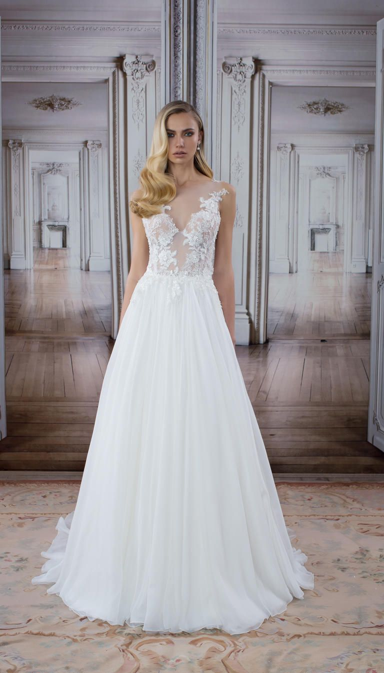 See every new pnina tornai wedding dress from the love for Kleinfeld wedding dress designers