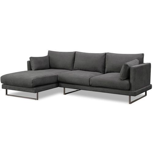 3 Seater Grey Zanda L Shaped Sofa L Shaped Sofa Furniture L Shaped Sofa Designs