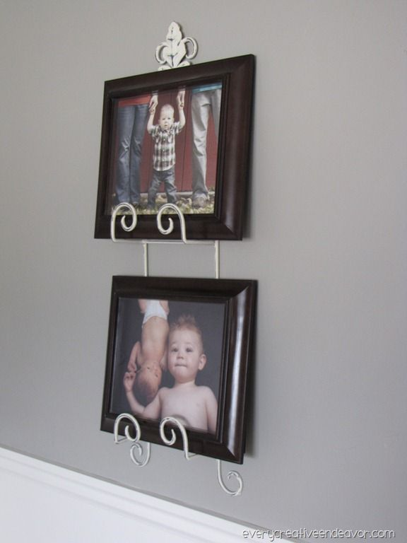 Use a plate rack to display pics  sc 1 st  Pinterest & Use a plate rack to display pics | For the home | Pinterest | Plate ...