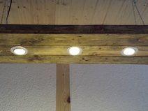 LED Hngelampe Deckenlampe Paletten Holz Set