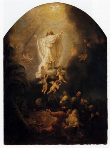 The Ascension Of Christ - Rembrandt