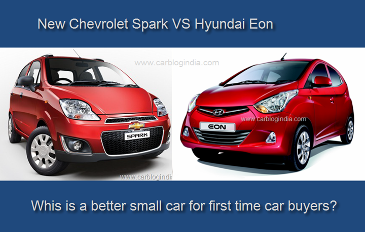 Chevrolet Spark Vs Hyundai Eon Detailed Comparison With Images
