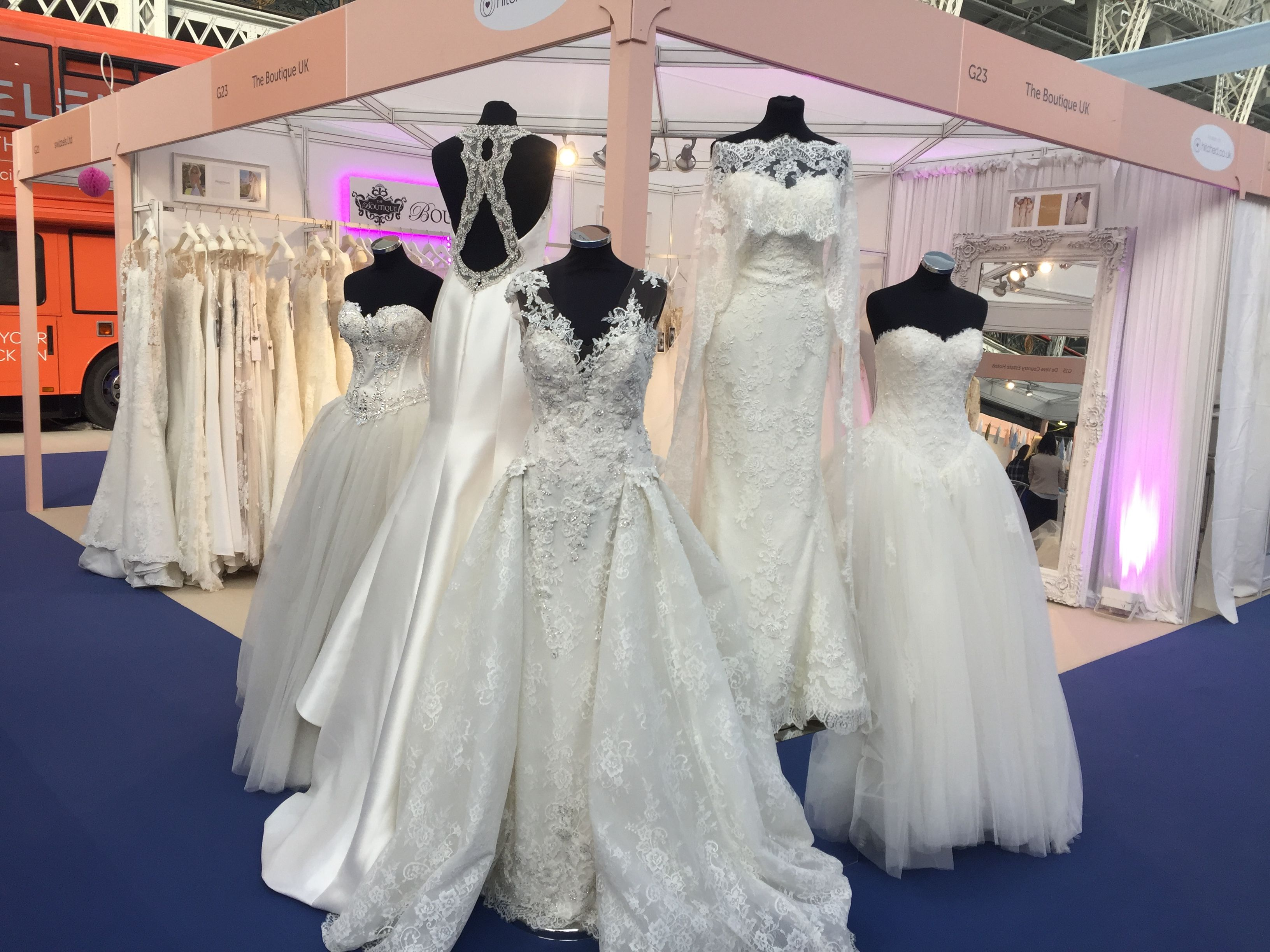 Our Stand At The National Wedding Show 2017 Www Theboutiqueuk 0208 616 4346