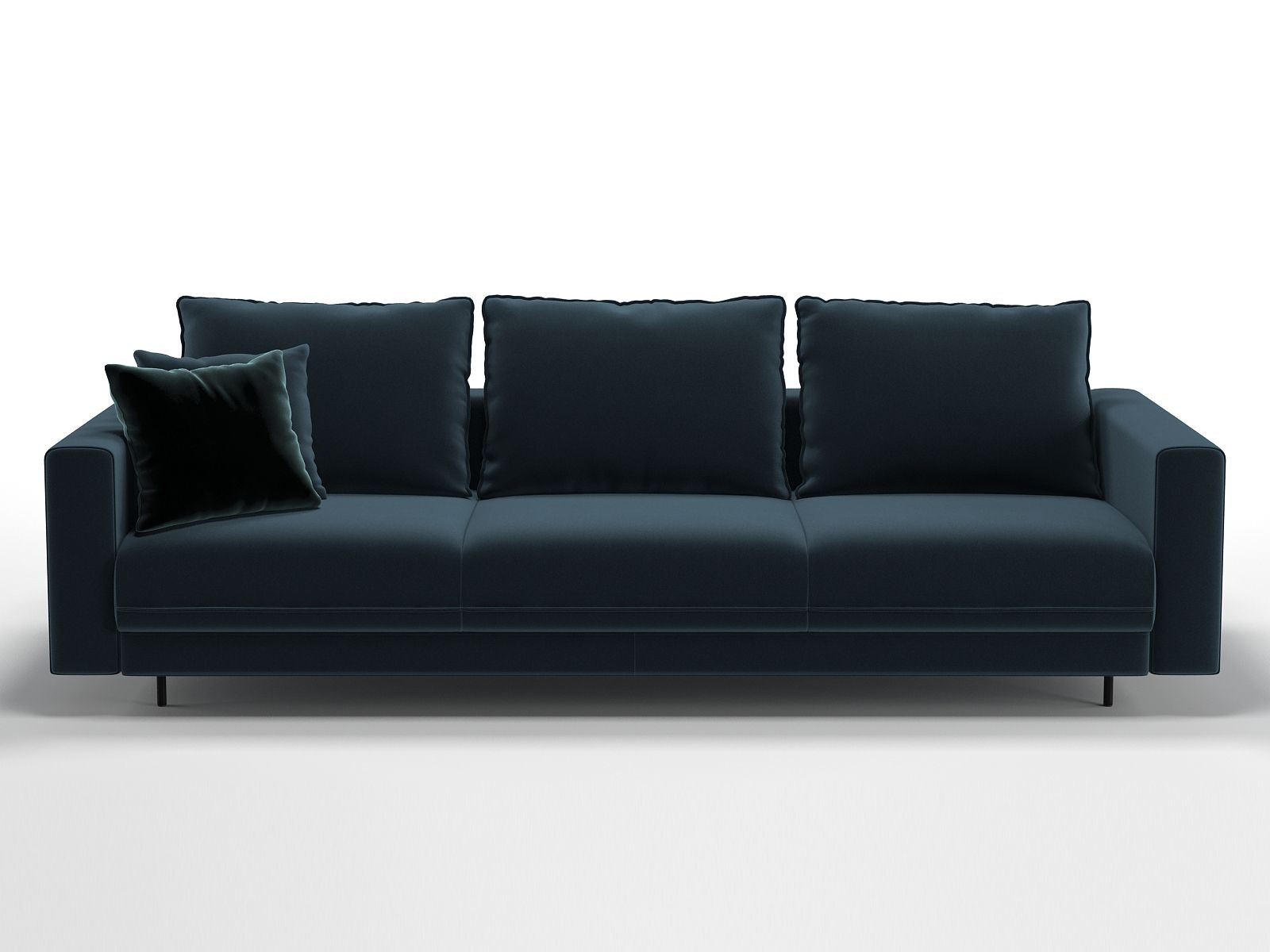 Enki 3 Seater Sofa 3d Model By Design Connected In 2020 Sofa 3
