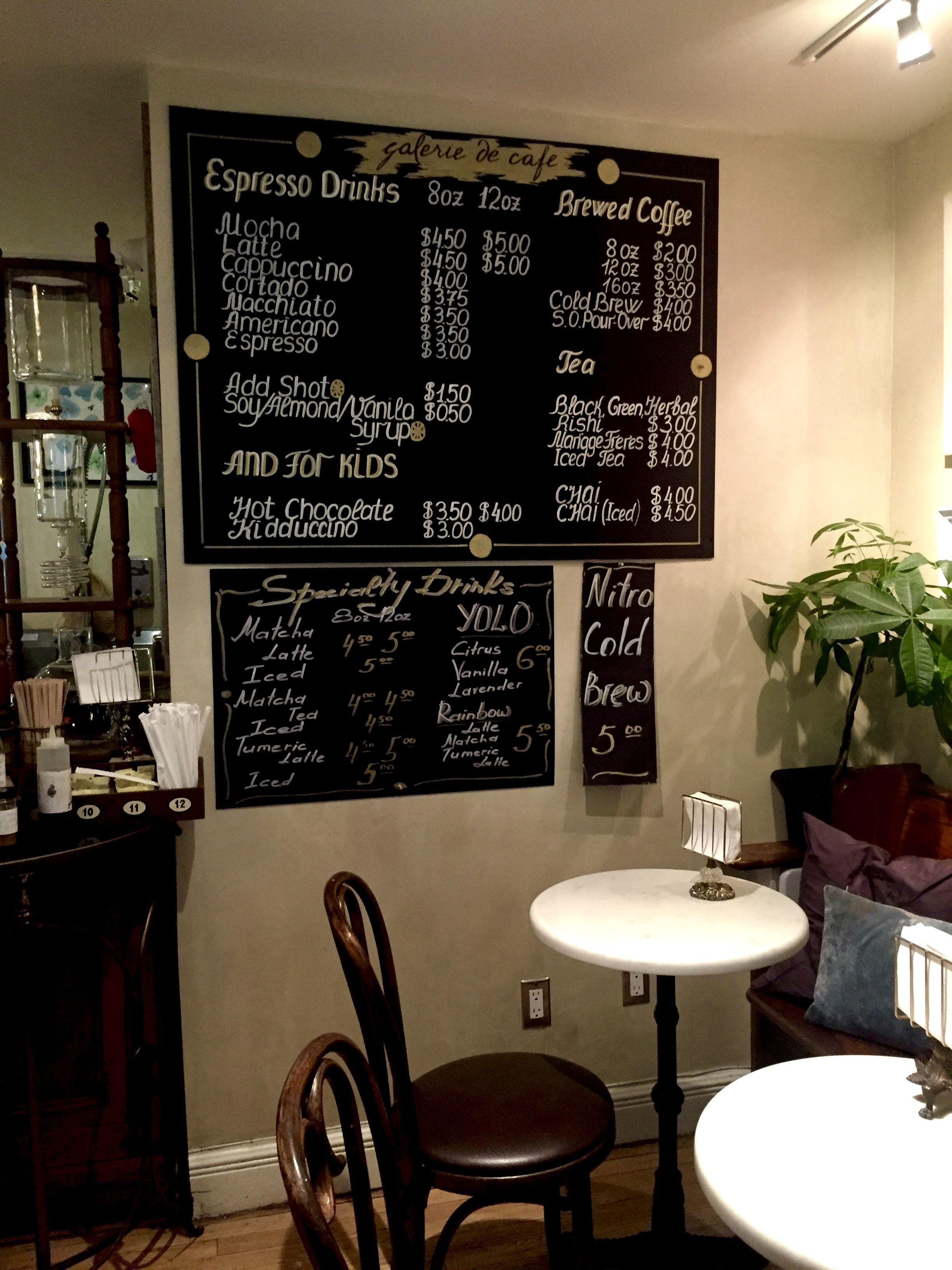 Galerie de Cafe Espresso drinks, Coffee brewing, Iced tea