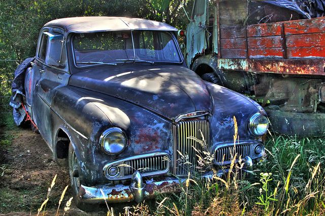 Old Car 1955 Humber Super Snipe Mark IV New Zealand