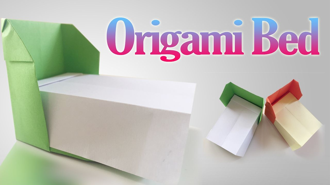 origami bed how to
