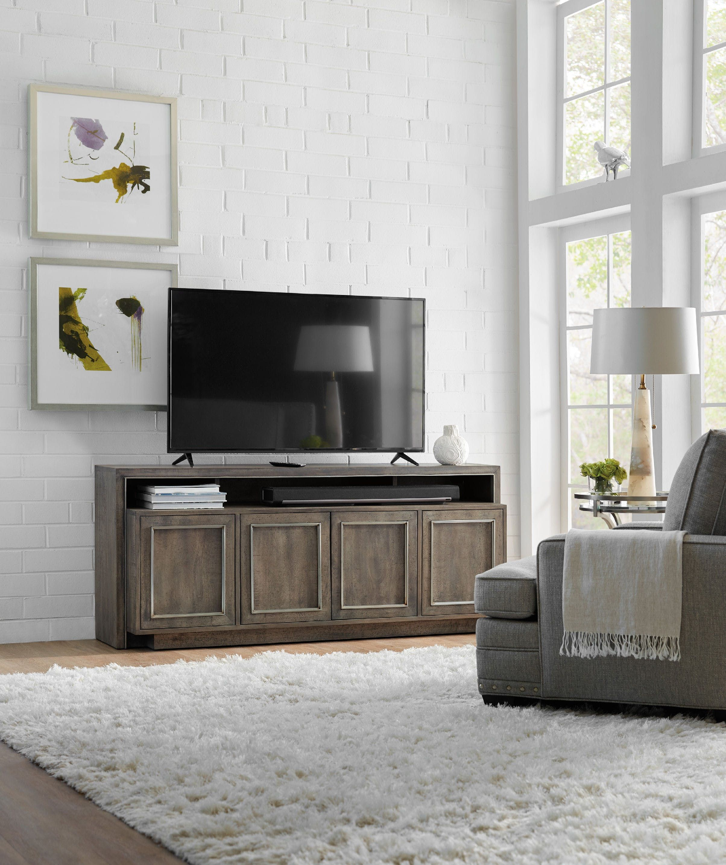 entertainment wall views treviso group home furniture more hooker cupboard