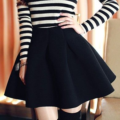 17 Best images about Black skirt on Pinterest | Navy blue sweater ...