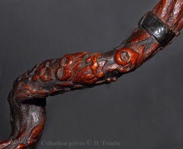 WW1,1WW, war, 14 18,1914, stick, cane, trench, trench, hairy, folk art,