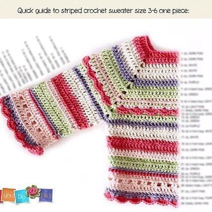 c474bfb50 Baby Sweater Crochet Pattern