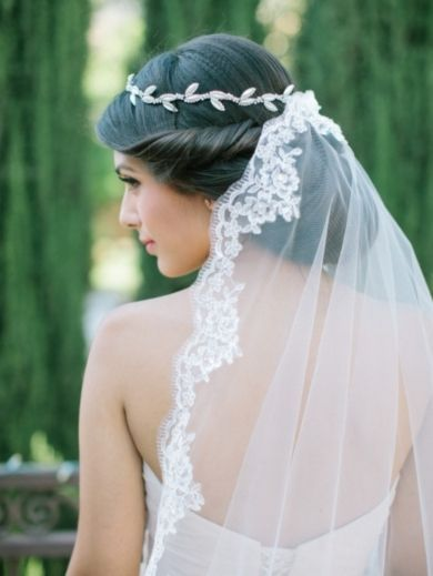Bridal Veils Know The Best Trends 2018 In 2020 Bridal Hair