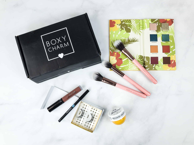 Boxycharm Becca cosmetics, Caribbean queen, Beauty make up