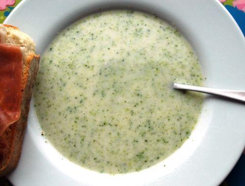 soppa med broccoli