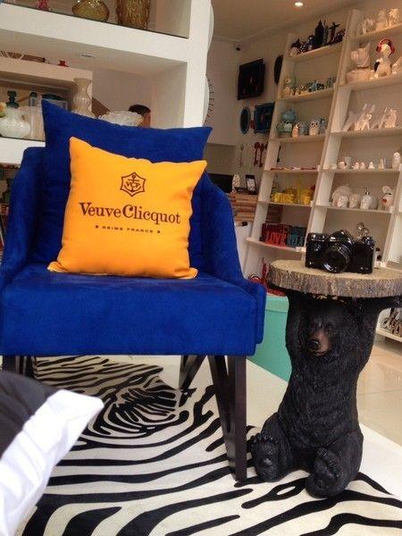 Almofada Veuve Clicquot
