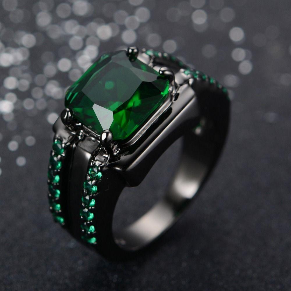 Emerald Ring For Men