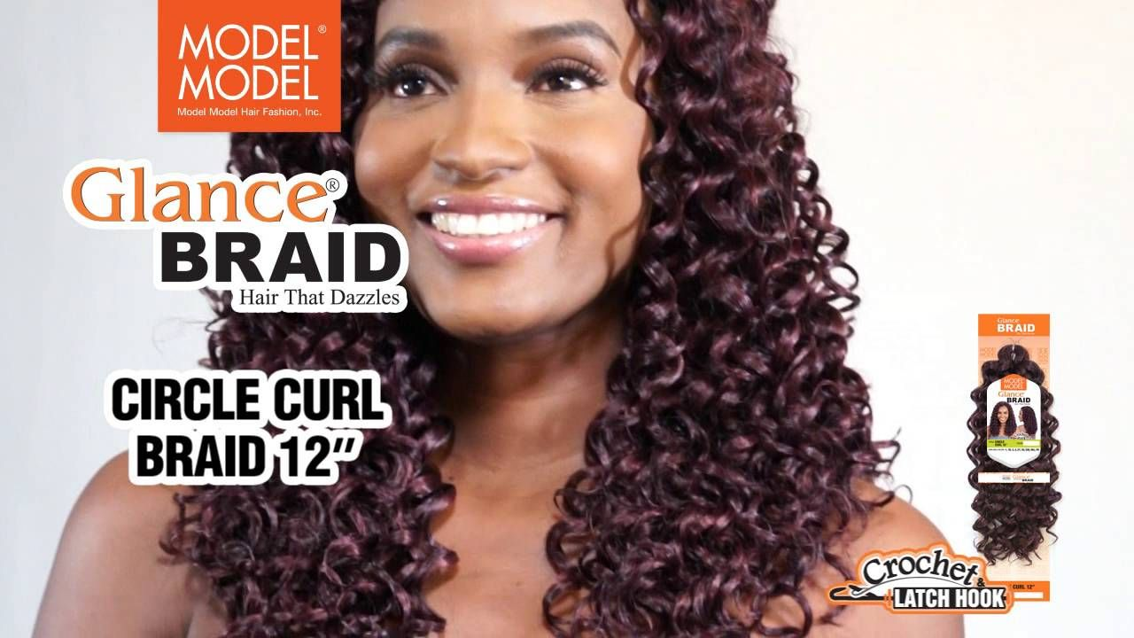 Model Model Glance Braid Video Pinterest