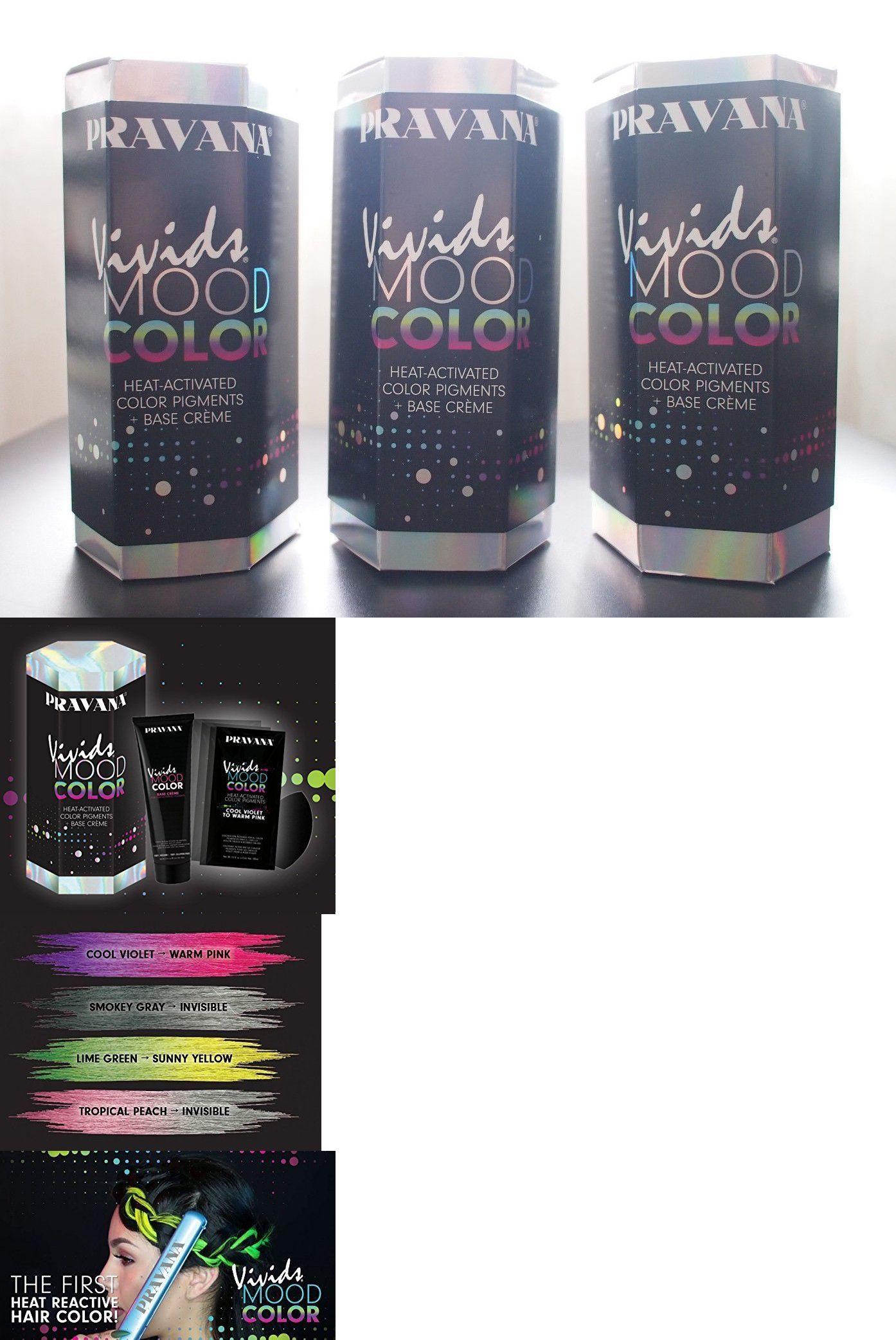Hair Color New Pravana Vivids Mood Heat Activated Hair Color Kit