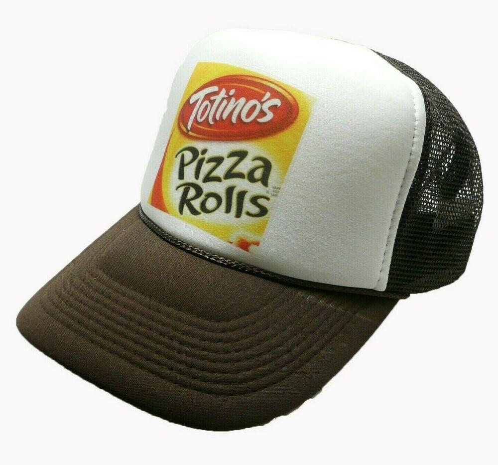 95d5b0a1c Vintage Totino's Pizza rolls Hat Trucker hat adjustable Snap Back ...