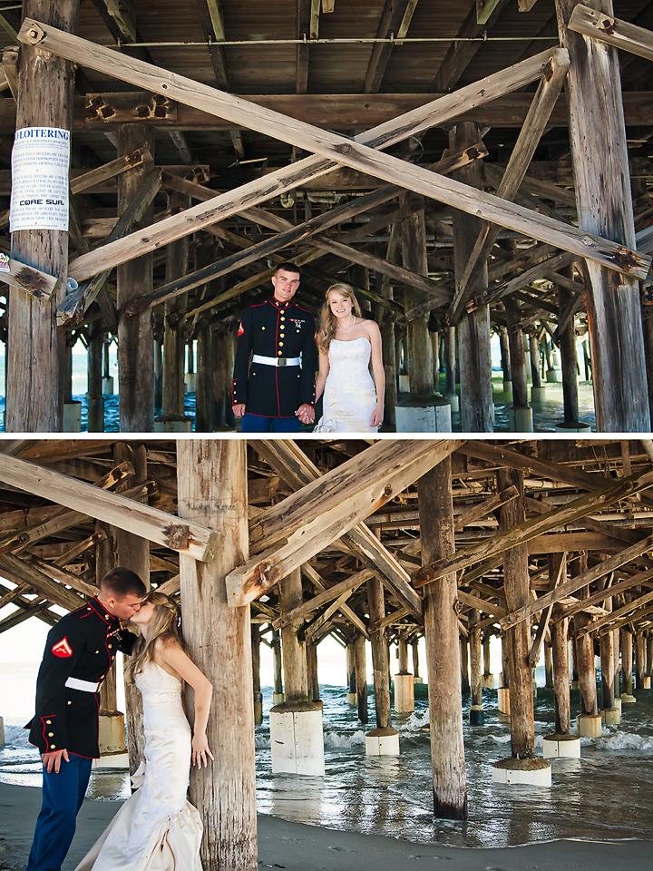 Mark and Sarah Cocoa beach, Beach, Wedding