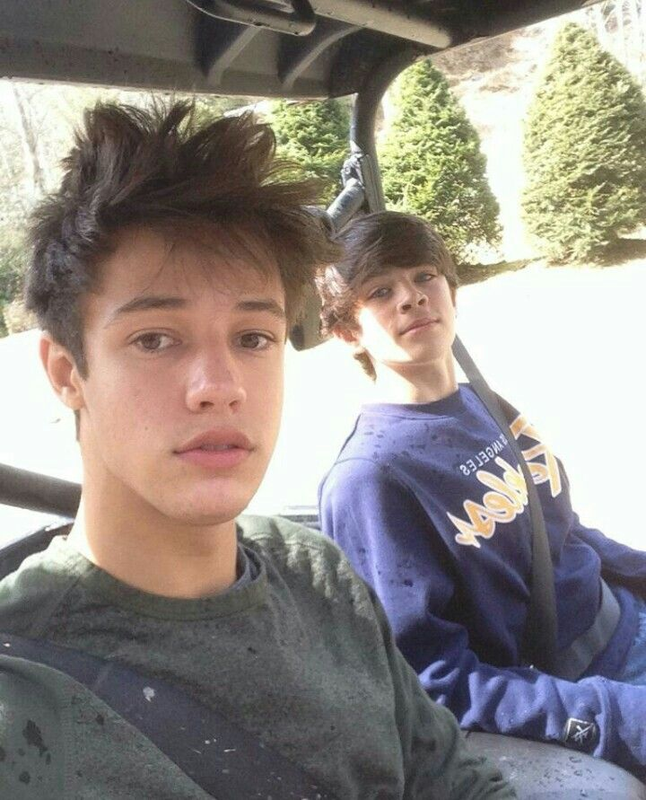 Cameron Dallas and Hayes Grier ❤ Beautiful