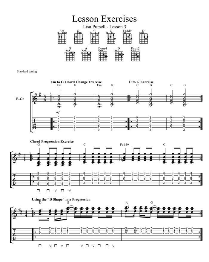 Beginners Open Chords Guitar Pinterest Guitars Guitar Chords