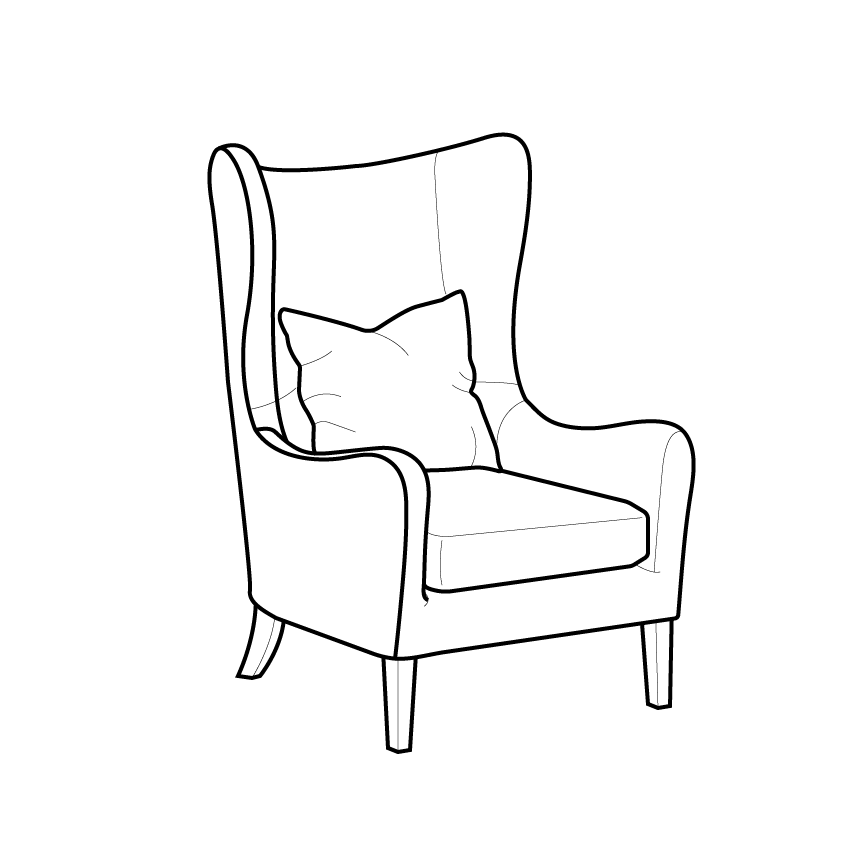Simplylines I Will Draw A Detailed Vector Line Art Of Any Diagram Product Or Illustrations For 5 On Fiverr Com Drawing Furniture Interior Design Drawings Art Inspiration Painting
