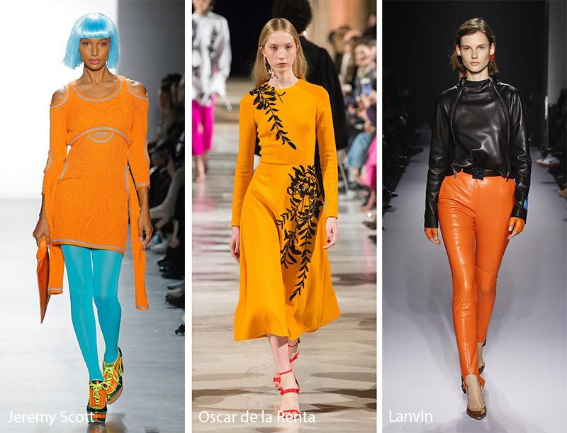 Fall/ Winter 2018-2019 Color Trends | Γυναικεία μόδα και Μόδα