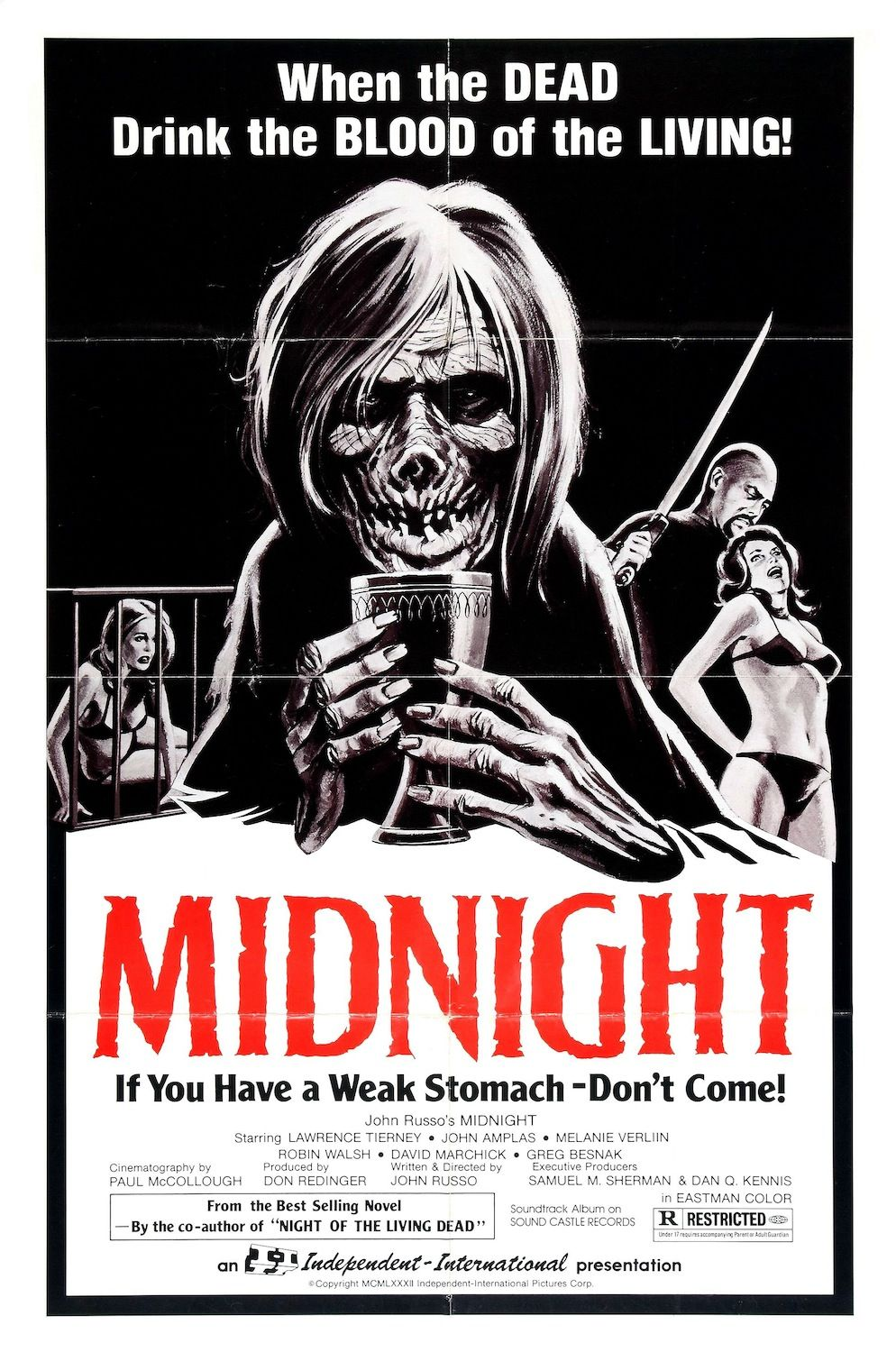 Midnight (1982) Classic horror movies posters, Horror