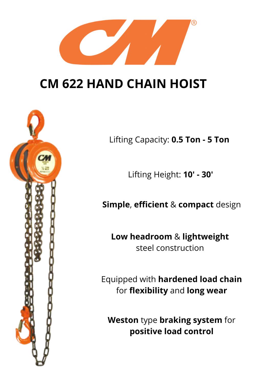 Cm 622 Hand Chain Hoist Hand Chain Hoist Chain