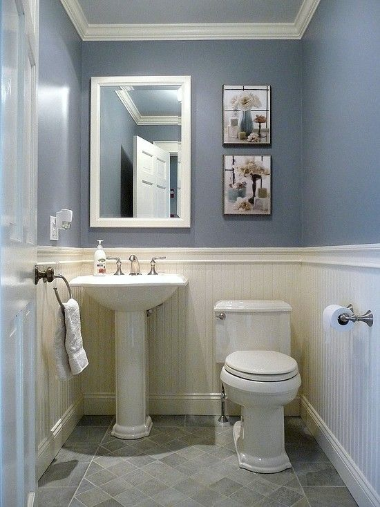 bathroom ideas paint astounding traditional half bath decor also royal blue 10433