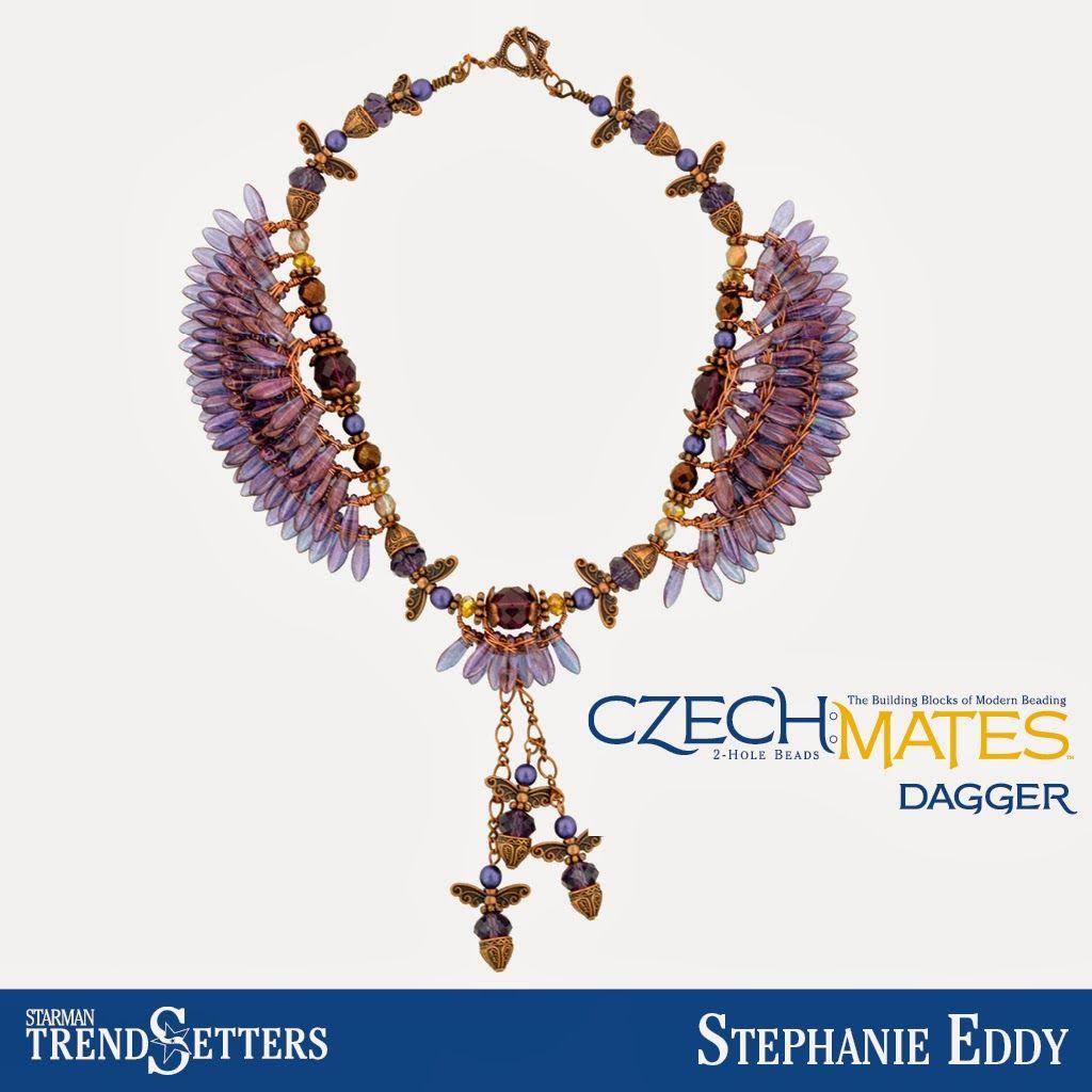 Trend Setter Glass Beaded BIB Necklace Set