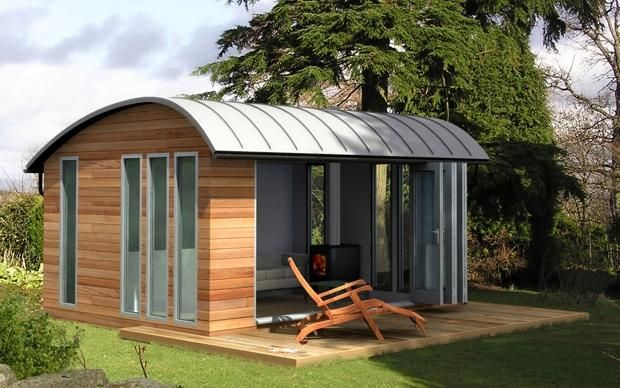 Image gallery luxury sheds for Luxury garden buildings