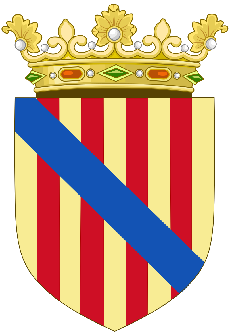 Coat Of Arms Of The Kingdom Of Majorca And The Balearic Islands 14th 20th Centuries Svg Brasao Bandeiras La