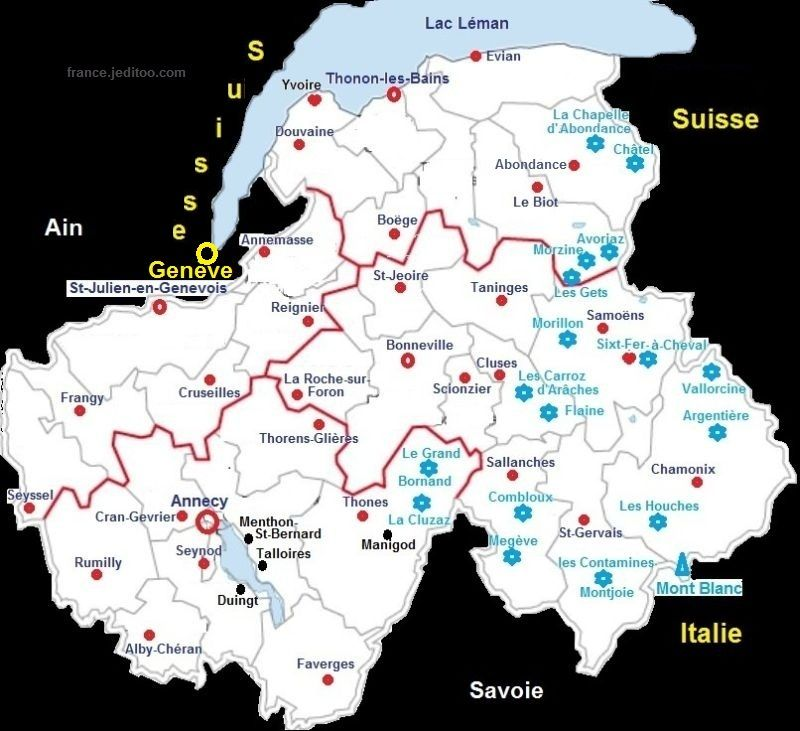 Stations De Ski En Haute Savoie Ski Resorts In French Haute
