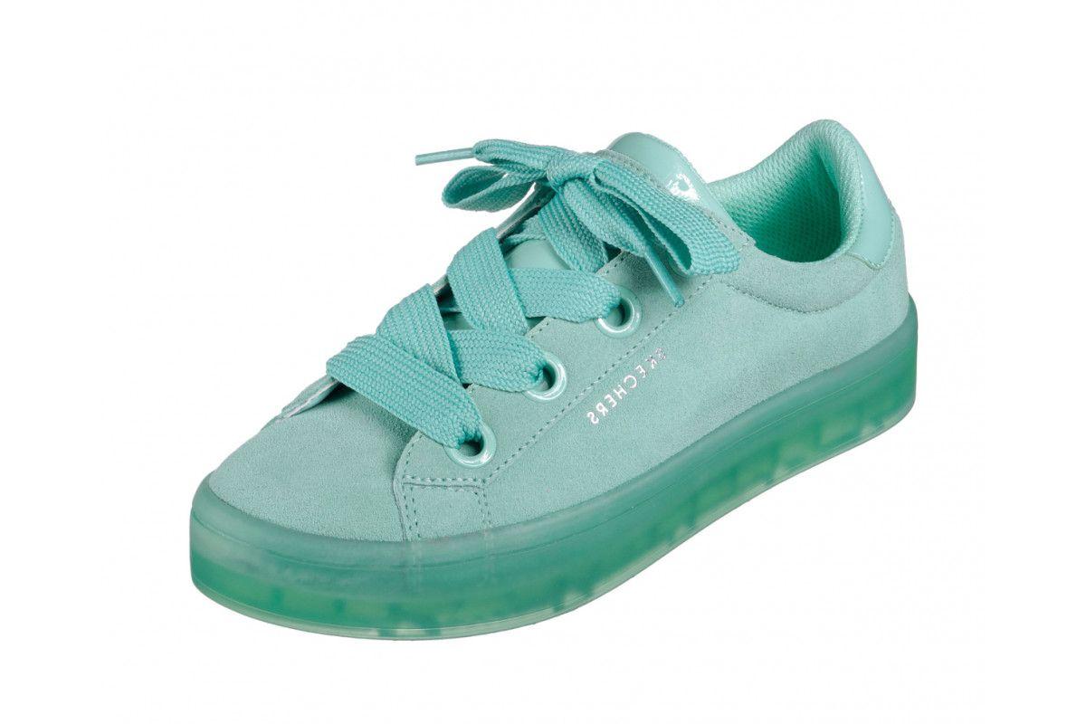 Aqua Mint Green Memory Foam Trainers