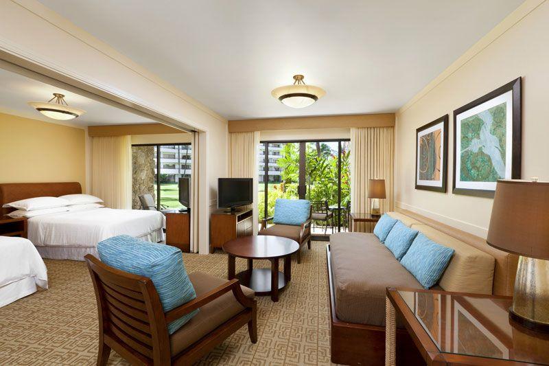 Kaanapali Beach Hotels Sheraton Maui Resort Spa Room Types