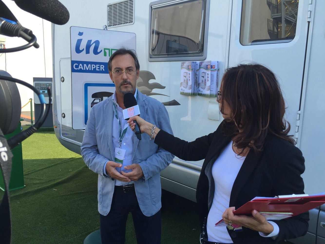 Backstage intervista a Gianluca Tomellini - Camper Service by Innova