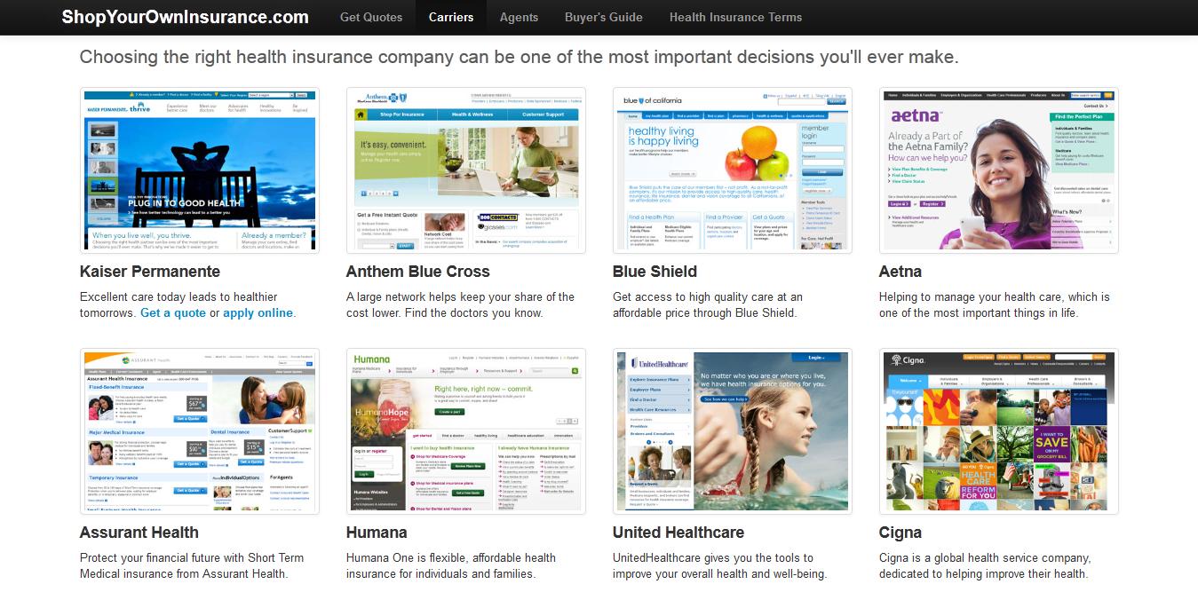 California Health Insurance Companies   Health insurance ...